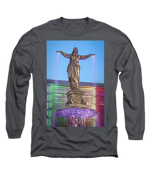 Water Genius 2 Long Sleeve T-Shirt by Scott Meyer