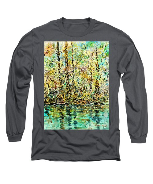 Water Kissing Land Long Sleeve T-Shirt