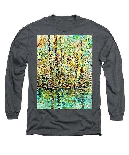 Water Kissing Land Long Sleeve T-Shirt