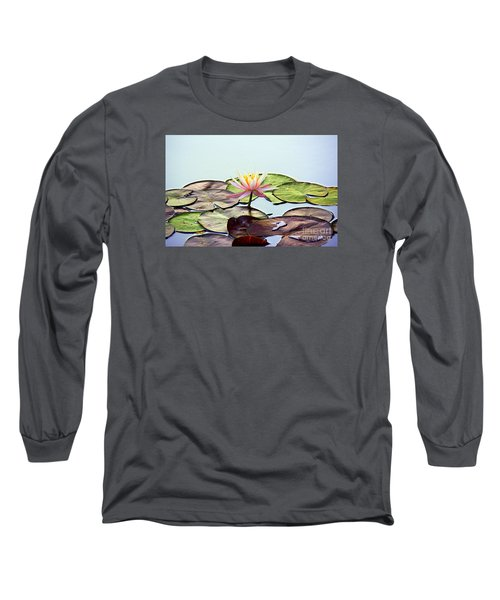 Long Sleeve T-Shirt featuring the photograph Water Lily Dream by Lisa L Silva