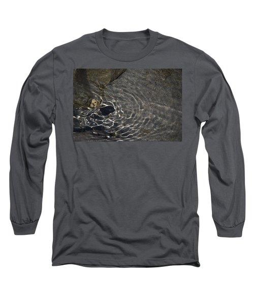 Long Sleeve T-Shirt featuring the photograph Black Hole by Yulia Kazansky