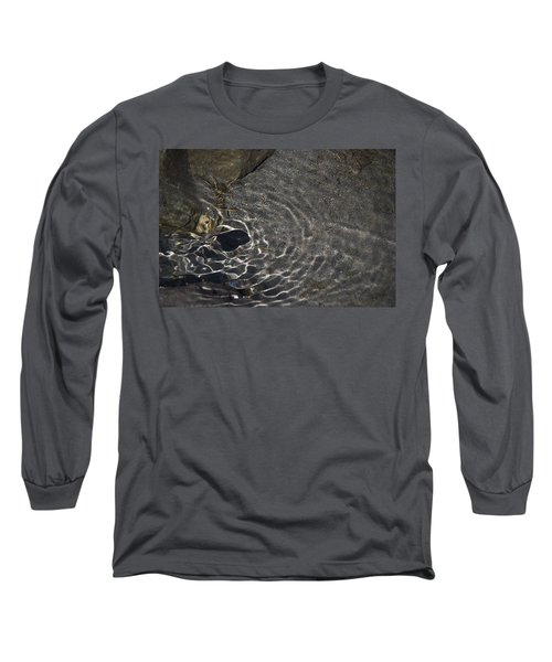 Long Sleeve T-Shirt featuring the photograph Black Hole by Yulia Kazansky