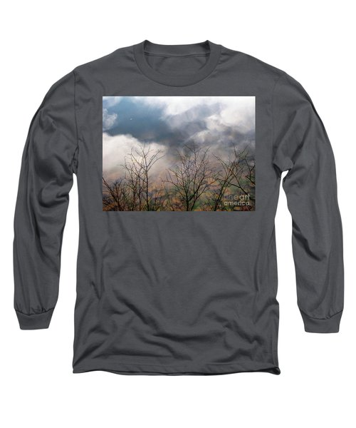 Long Sleeve T-Shirt featuring the photograph Water Study by Melissa Stoudt
