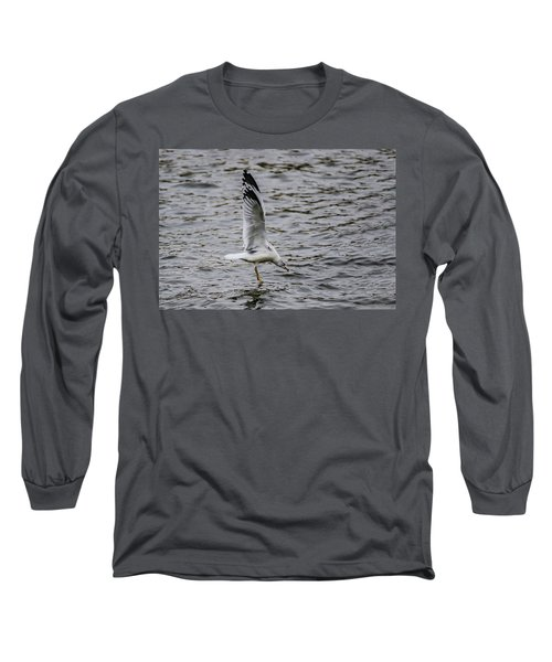 Water Tester Long Sleeve T-Shirt by Ray Congrove
