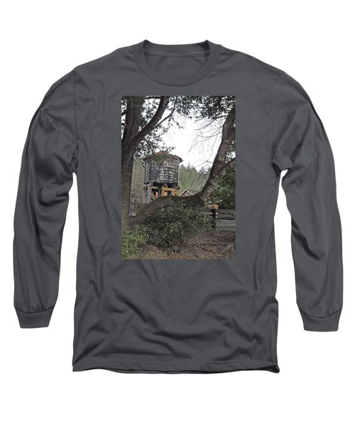 Water Tower @ Roaring Camp Long Sleeve T-Shirt