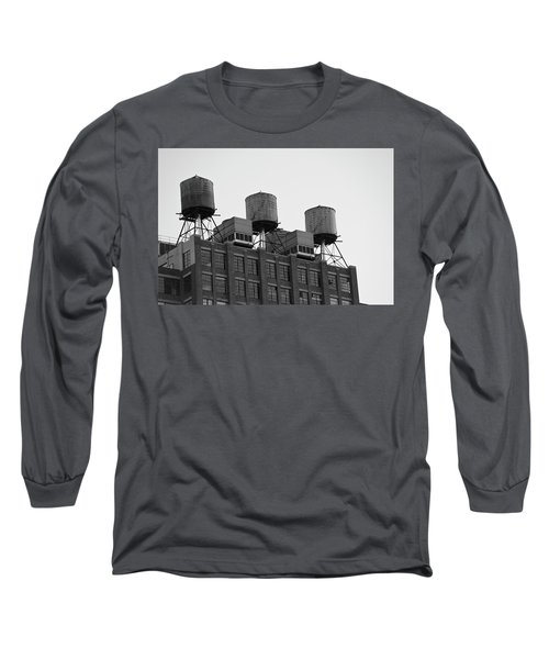 Water Towers Long Sleeve T-Shirt