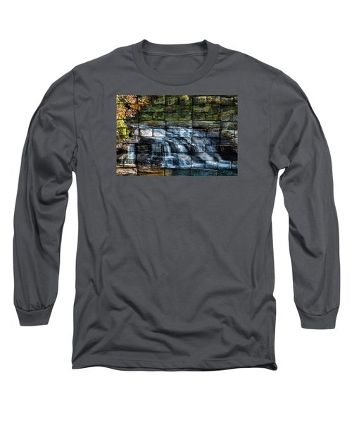 Water Wall Long Sleeve T-Shirt