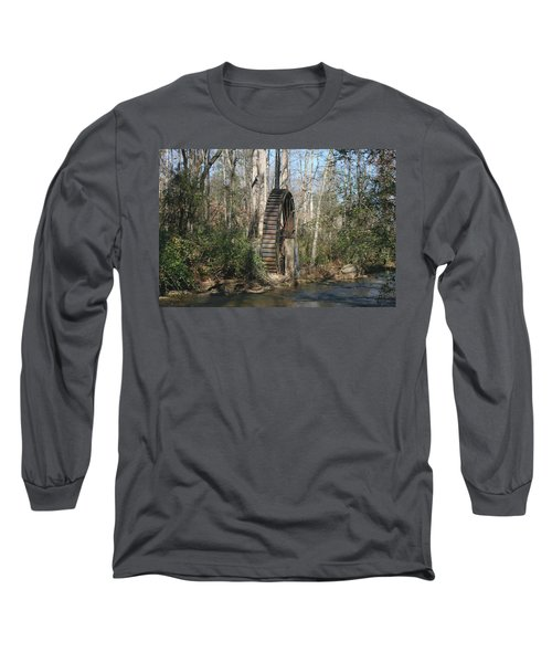 Long Sleeve T-Shirt featuring the photograph Water Wheel by Cathy Harper