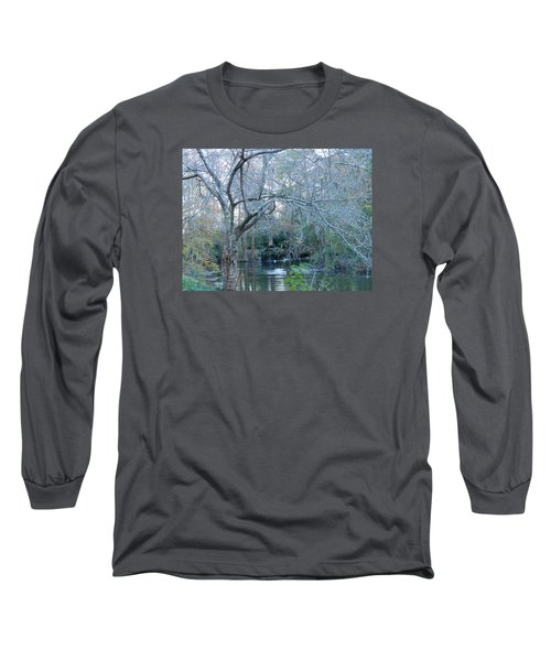 Water Wheel Long Sleeve T-Shirt by Kay Gilley