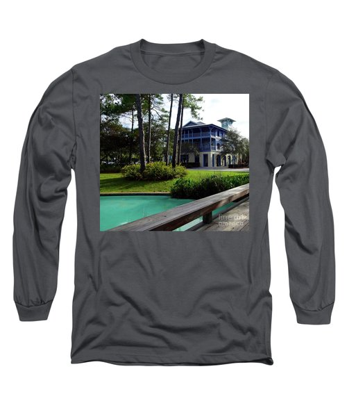 Watercolor Florida Long Sleeve T-Shirt by Megan Cohen