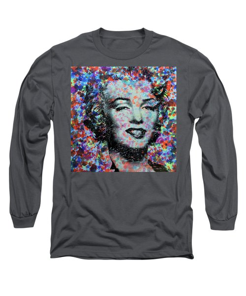 Watercolor Marilyn Long Sleeve T-Shirt