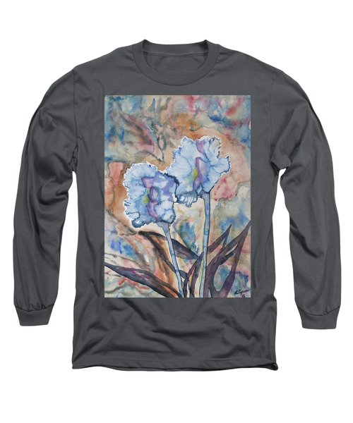 Watercolor - Orchid Impression Long Sleeve T-Shirt