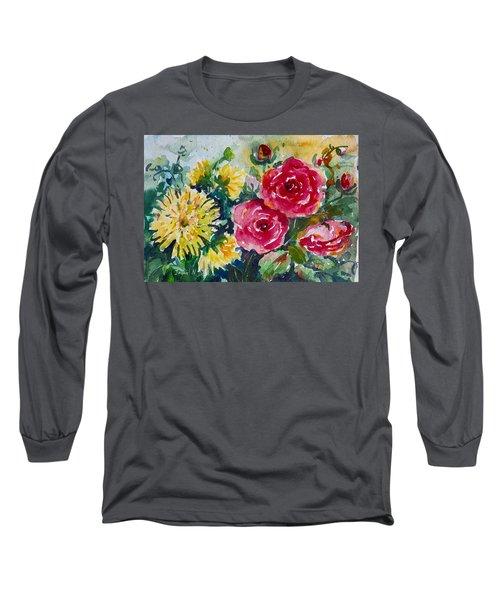 Watercolor Series No. 212 Long Sleeve T-Shirt