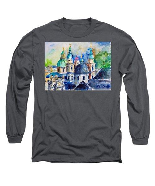 Watercolor Series No. 247 Long Sleeve T-Shirt
