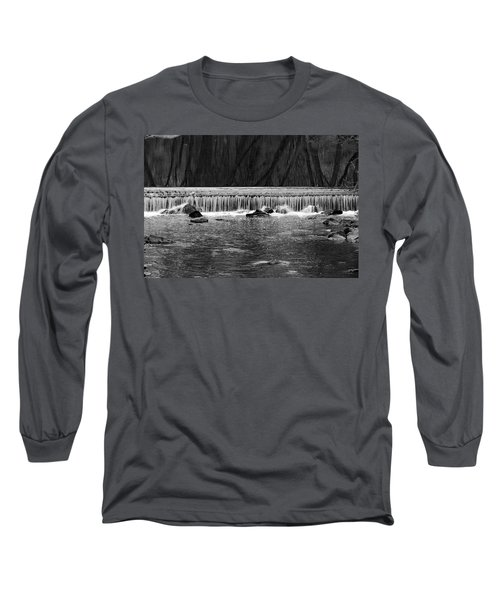Waterfall 002  Long Sleeve T-Shirt