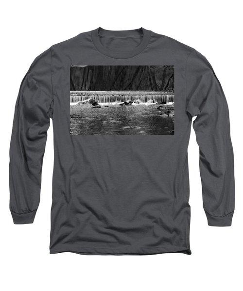 Waterfall 002  Long Sleeve T-Shirt