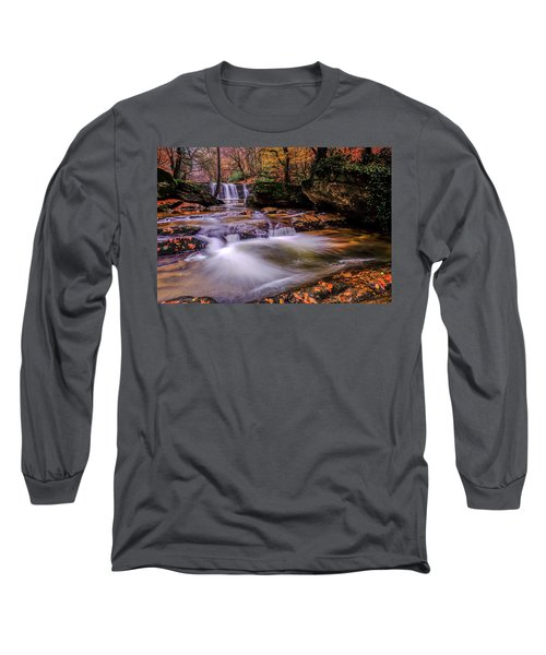 Waterfall-9 Long Sleeve T-Shirt