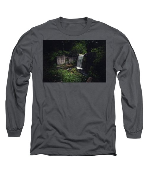 Waterfall At Paradise Springs Long Sleeve T-Shirt