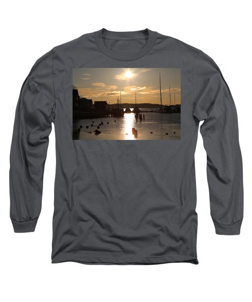 Waterfront, Oslo Fjords, Norway.  Long Sleeve T-Shirt