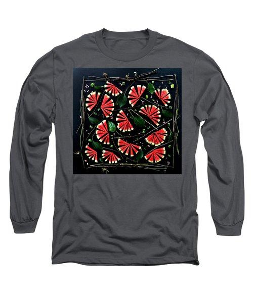 Watermelon Fans Long Sleeve T-Shirt