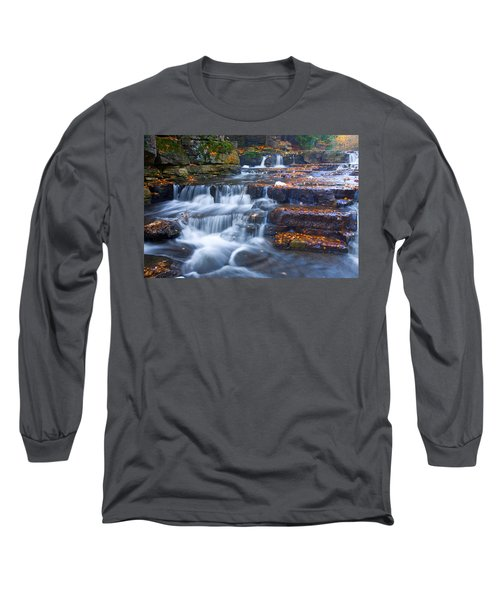 Watery Steps Long Sleeve T-Shirt