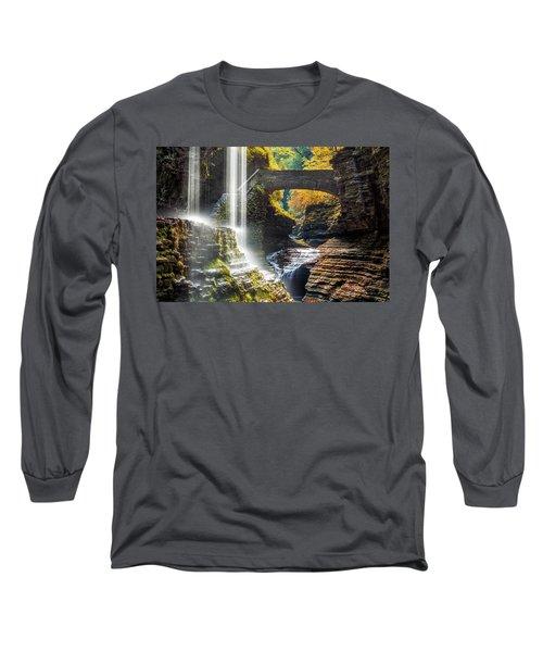 Watkins Glen State Park Long Sleeve T-Shirt