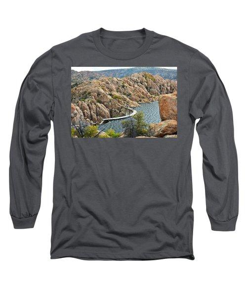 Watson Lake Dam Long Sleeve T-Shirt