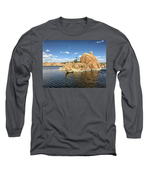 Watson Lake Rock Island Long Sleeve T-Shirt