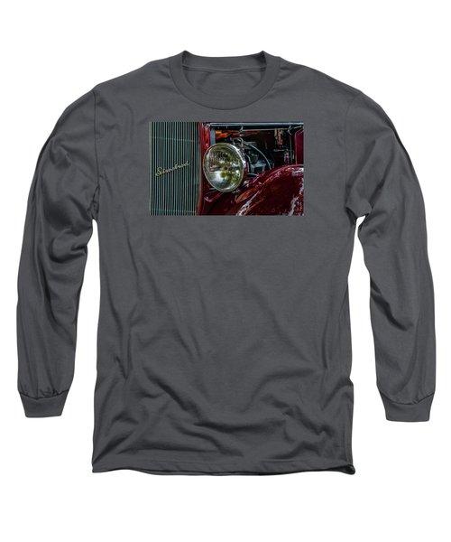 Long Sleeve T-Shirt featuring the photograph Waupaca Streetrod by Trey Foerster