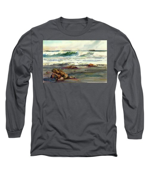 Wave Action Long Sleeve T-Shirt by P Anthony Visco