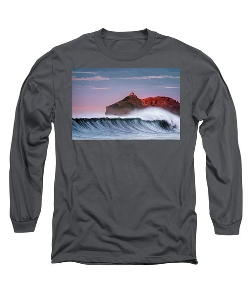 Wave In Bakio Long Sleeve T-Shirt
