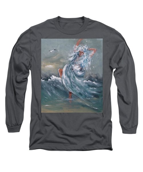 Wave Within Long Sleeve T-Shirt
