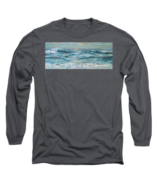 Waves And Wind Long Sleeve T-Shirt