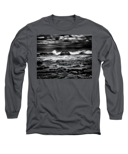 Waves At Dawn Long Sleeve T-Shirt