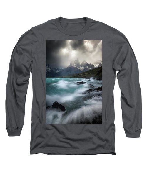 Waves On Waves Long Sleeve T-Shirt