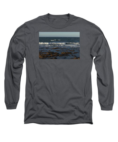 Waves Rolling Ashore Long Sleeve T-Shirt