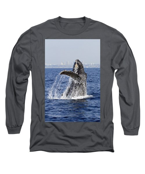 Waving  Long Sleeve T-Shirt by Shoal Hollingsworth