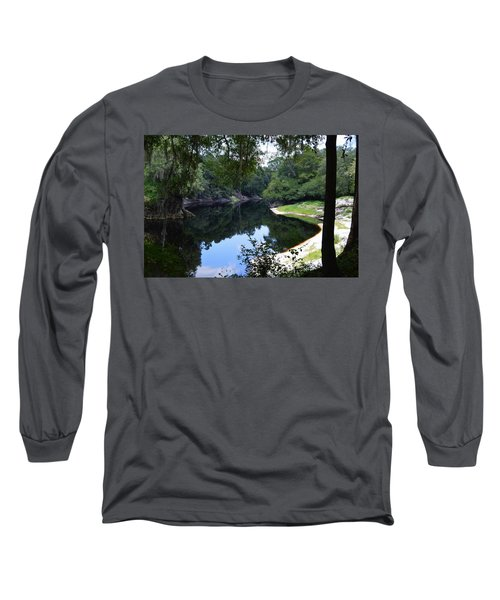 Way Down Upon The Suwannee River Long Sleeve T-Shirt by Warren Thompson