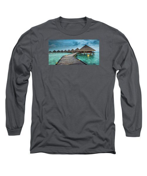 Way To Luxury 2x1 Long Sleeve T-Shirt by Hannes Cmarits