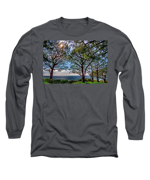 Wayfarer's  Ocean View Long Sleeve T-Shirt