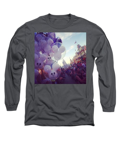 An Early Magical Morning  Long Sleeve T-Shirt