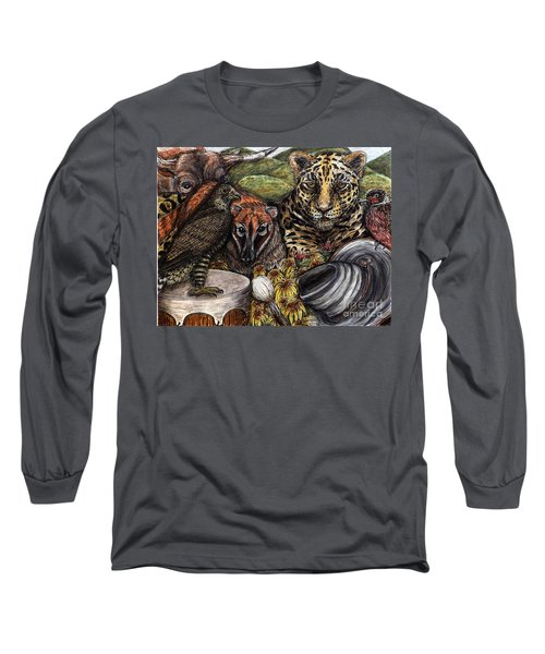 We Are All Endangered Long Sleeve T-Shirt by Kim Jones