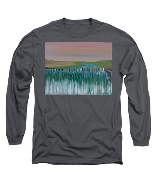 We Are All The Same 1.3 Long Sleeve T-Shirt by Tim Mullaney