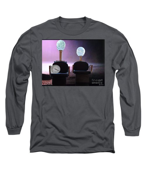We Are Lost Long Sleeve T-Shirt by Lyric Lucas
