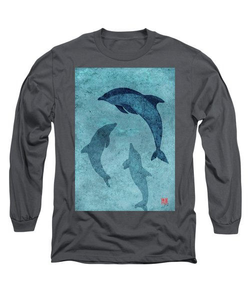 We Dream Again Of Blue Green Seas Long Sleeve T-Shirt