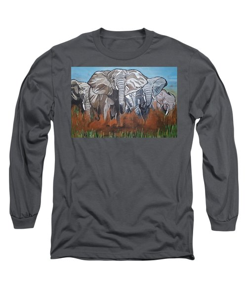 We Ready For De Road Long Sleeve T-Shirt
