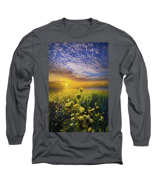 Long Sleeve T-Shirt featuring the photograph We Shall Be Free by Phil Koch