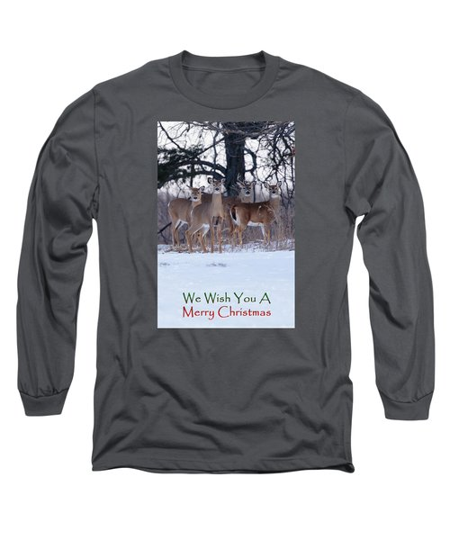 Long Sleeve T-Shirt featuring the photograph We Wish You A Merry Christmas by Gary Hall