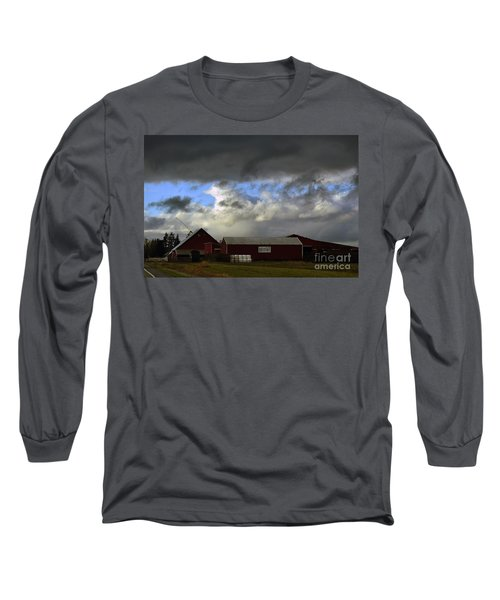 Weather Threatening The Farm Long Sleeve T-Shirt