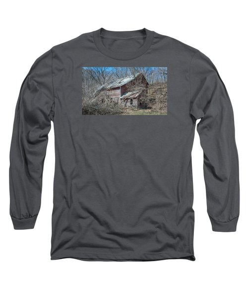 Long Sleeve T-Shirt featuring the photograph Weathered And Broken by Dan Traun